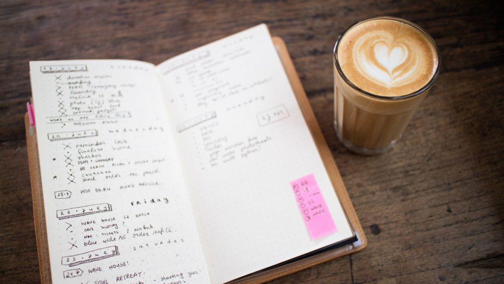 Bullet Journaling – Eine neue Form der To-Do-Liste