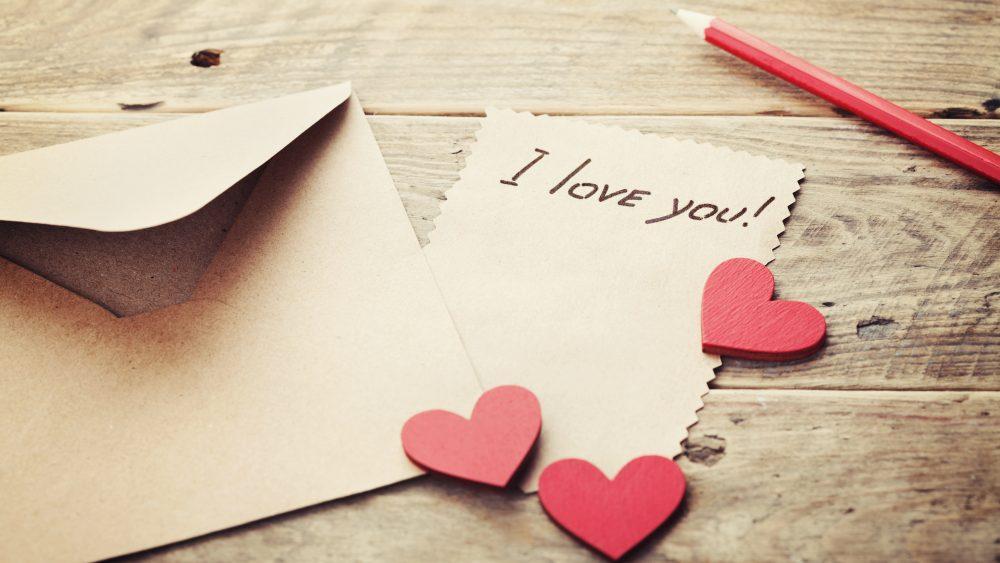 Liebesbriefe – Sag es mit Papier