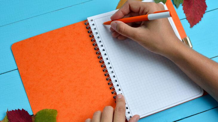 Entspanntes Pläneschmieden mit Papier