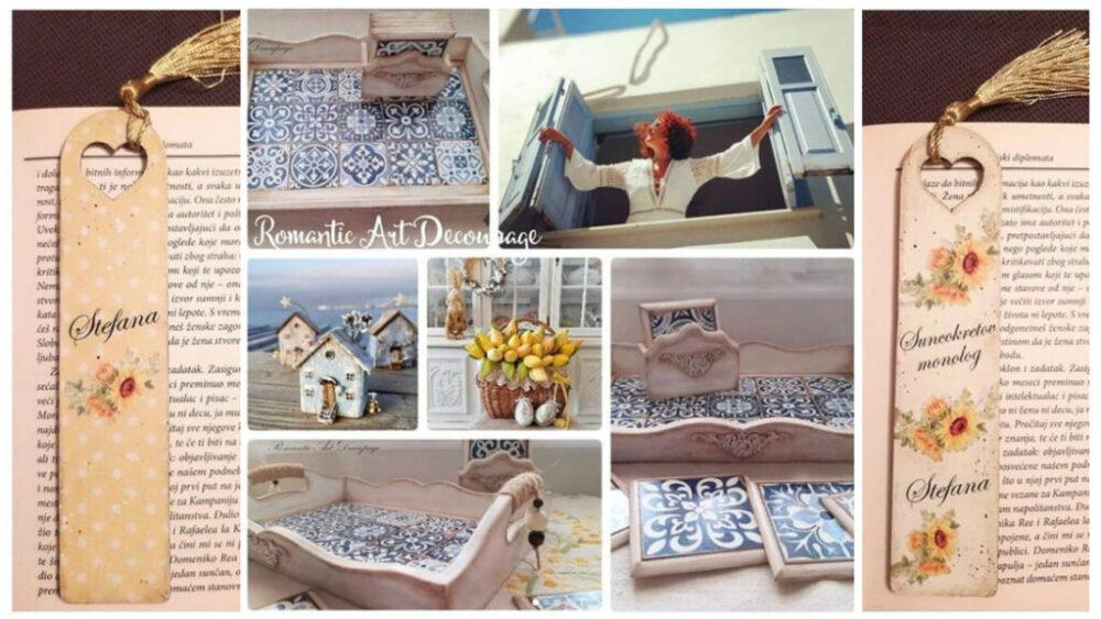 Die Kunst der Decoupage